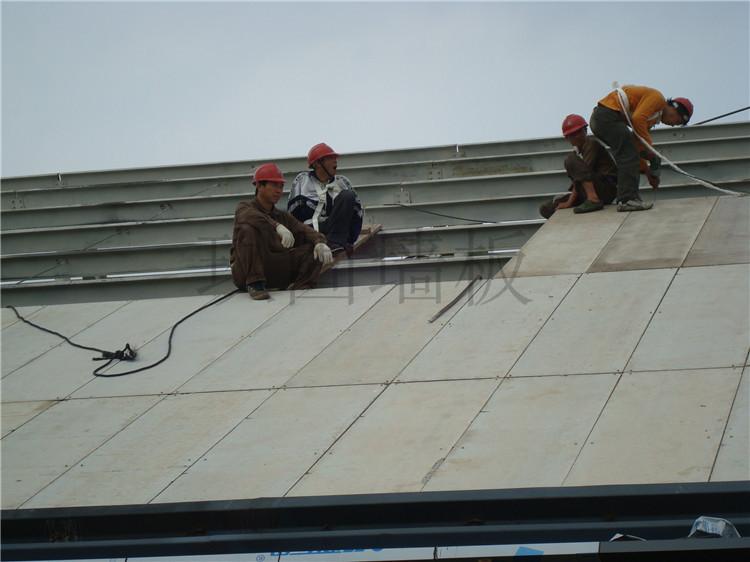新型轻质复合墙板屋顶应用系统